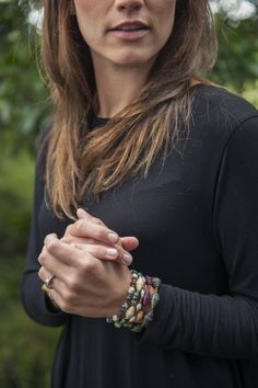 Layered Hope Art bracelets make any outfit look perfectly put together!