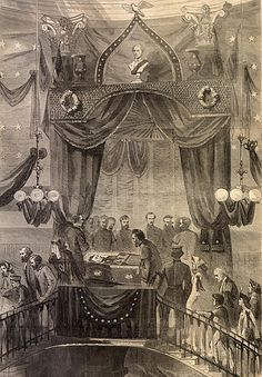 President Lincoln Lying in State, May 1865 Abraham Lincoln Family, Lincoln Life, Mary Todd Lincoln, American Presidents, Us Presidents, American Civil War, American History, Mystery Of History, Us History