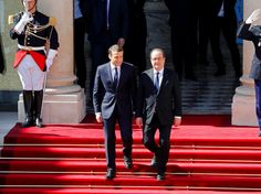 Emmanuel Macron is the newest president of France after his inauguration at the Elysee Palace in Paris this morning.  The 39-year-old former banker has taken over from his predecessor, Francois Hollande, after the official handover at the palace.   http://aspost.com/post/Emmanuel-Macron-just-became-the-youngest-president-of-France/27603 #politics #politic #politicians #news #political http://aspost.com/post/Emmanuel-Macron-just-became-the-youngest-president-of-France/27603