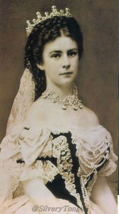 Empress Elisabeth of Austria by Emil Rabending.