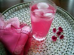 Fresh rose juice