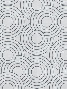 Crop Circles Designer Fabric by Aimée Wilder. Materials: Cotton Sailcloth, Fine Belgian Linen/Cotton Blend, Belgian Linen, or Organic Cotton Denim Length*: 1 yar Geometric Circle, Geometric Designs, Geometric Patterns, Textures Patterns, Pattern Drawing, Pattern Art, Pattern Design, Design Textile, Fabric Design