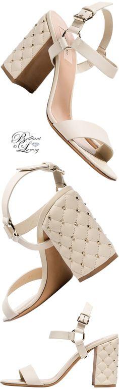 Brilliant Luxury ♦ Valentino Rockstud spike leather sandals