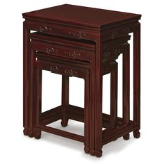Delicieux Rosewood Key Design Nesting Table
