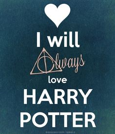 I WILL ALWAYS LOVE HARRY POTTER!!! ⚡️
