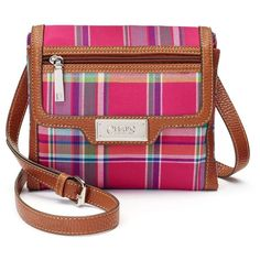 Chaps Flap Front Mini Crossbody Bag ( 41) ❤ liked on Polyvore featuring bags  eb3918d1c9d16