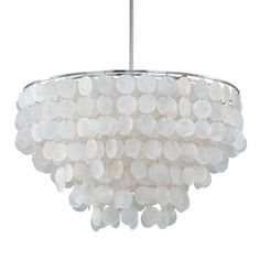 Austin Allen & Company Modern 6-light Polished Nickel Pendant