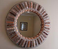 L & L Shell Crafts - Seashell Crafts - Seashell Mirrors - Seashell Decor - Beach Decor