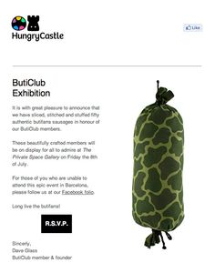 ButiClub Exhibition, by Hungry Castle (http://hungrycastle.com)