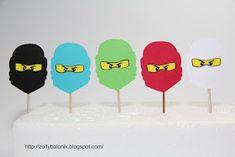 Żółty balonik: Ninjago - Żółty balonik - przygotowania