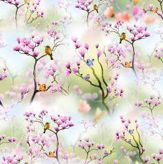 Birds in Cherry Tree