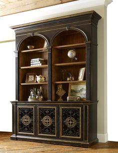 Biltmore Arch Bookcase