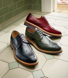 Brush aside the black shoe and make way for the Eaton brogue...