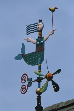 LOVE this weathervane!