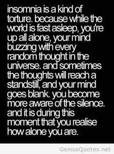 What is insomnia quote