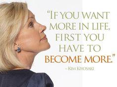 Kim Kiyosaki Quotes, Rich Woman, And Money! #KimKiyosaki #DiegoVillena #FreedomWithDiego