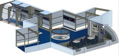 USS Odyssey - Small Lounge (Nine forward) by bobye2.deviantart.com on @DeviantArt
