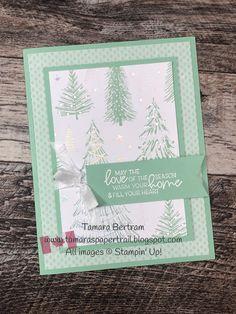 Stampin Up Christmas, Christmas Cards To Make, Xmas Cards, Holiday Cards, Christmas Crafts, Winter Cards, Pretty Cards, Stamping Up, Creative Cards