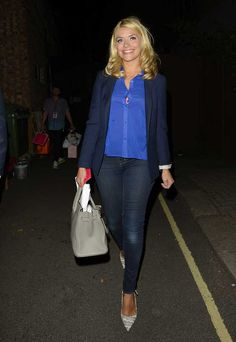 Holly Willoughby Dresses Down And Still Looks Amazing