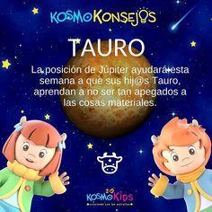 Conoce más de tu niña y niño #Tauro. Visita nuestra página web:  ➡️➡️ www.360kosmokids.com ⬅️⬅️     #Astrología #Horóscopo #Zodiaco #Educación  #3D 3 D, Taurus