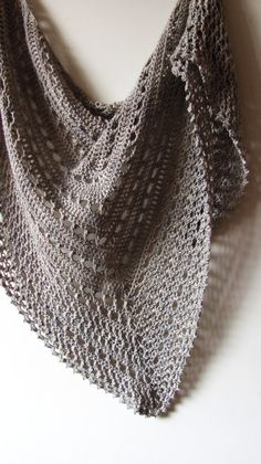 Northern Sea Shawl PDF Crochet Pattern