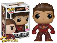 San Diego Comic Con Exclusive: Pop! TV- The Flash – The Flash Unmasked SDCC Funko POP