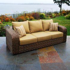 Santorini Fully Woven Sofa at Menards & Simmons Upholstery Sebring Rocker Recliner at Menards | my remodel ... islam-shia.org