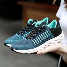 Rosh Run Men Running Shoes Speed Breathable Air Mesh Classic Lace Up  Outdoors Sport Shoes Hollow 939a51cd3232