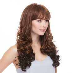 Dallas Heat Resistant 3/4 Wig by Sepia