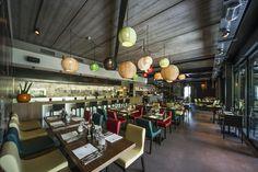 CRUDO at Versuz concept restaurant #Italian #interiordesign SANGHA('s) colours #DARK
