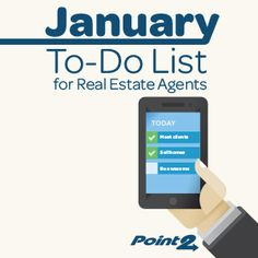 Week-by-week activities for real estate agents to get your year started on the right foot!