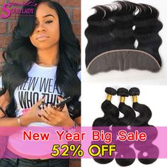 13x4 Ear To Ear Lace Frontal Closure With Bundles 8A Brazilian Body Wave With Frontal Closure Brazilian Virgin Hair With Closure wigs