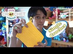 Watch This Video Beauteous Finished Make Crochet Look Like Knitting (the Waistcoat Stitch) Ideas. Amazing Make Crochet Look Like Knitting (the Waistcoat Stitch) Ideas. Tunisian Crochet Stitches, Crochet Dishcloths, Crochet Stitches Patterns, Chrochet, Knitting Patterns, Learn To Crochet, Easy Crochet, Beginning Crochet, Single Crochet Stitch