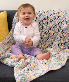 Baroque Baby Blanket