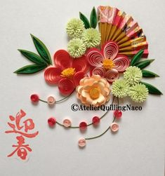 20150107 Quilling Work, Quilling Paper Craft, Quilling Flowers, Paper Flowers, Quilling Patterns, Quilling Designs, Paper Quilling Cards, Origami Ornaments, Quilling Animals