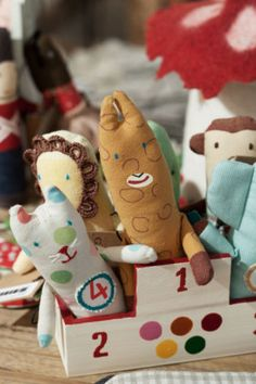 Cute handmade toys