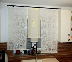 Hi there is new self stitched curtains! Sliding Curtains, Curtains With Blinds, Shades Blinds, Curtain Sets, Home Interior Design, New Homes, Mirror, House, Furniture