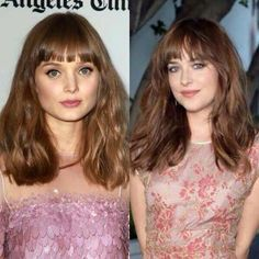 Ana & Leila. #DakotaJohnson #BellaHeathcote.  Picture pinned  from fifty shades of grey and more blog