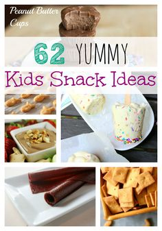 I am always looking for snacks for my kids!!  There are so many great ideas!!