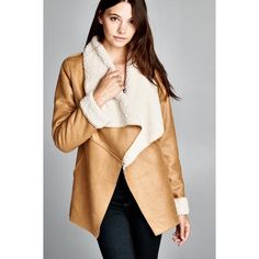 """X """"Morningstar"""" Faux Suede Shearling Jacket Faux suede shearling lined camel colored jacket. Super warm and cozy. Brand new. True to size. NO TRADES. PRICE FIRM. Bare Anthology Jackets & Coats"""
