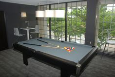 The Point at Silver Spring Apartments, MD- Community Amenities- ow.ly/zrQYX #recreation #newapartments #apartmentbuilding #pooltable #billiards #clubhouse #silverspring #apartmentliving