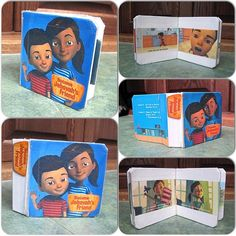 Jehovah's Happy People @jw_witnesses Instagram photos | Webstagram [ @ ] jw_witnesses A sister bought a couple of little board books, printed out several screen shots from the Caleb videos, taped them into the board book. Each Caleb video can have its own board book. Every surface in the book has clear packing tape on it so the little ones can't make too much of a mess on it. This is a very cool idea.