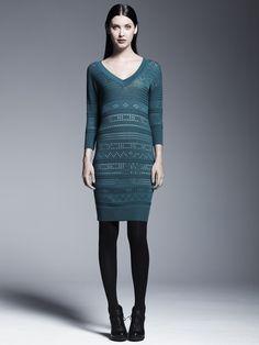Tres chic sweaterdress. #CatherineForKohls #DesigNation #Kohls