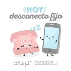 """Hoy nos ponemos en modo """"no disponible"""" #mrwonderfulshop #quotes Wonder Quotes, Its A Wonderful Life, Funny Quotes, Family Guy, Clip Art, Positivity, My Love, Instagram Posts, Squishy Kawaii"""
