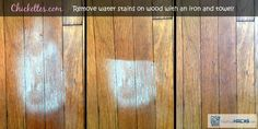 removing water stains from wood floor Water Stain On Wood, White Wood Stain, Diy Wood Stain, Remove Water Stains, Hard Water Stains, Remove Mold, Furniture Cleaner, Wood Furniture, Leather Furniture
