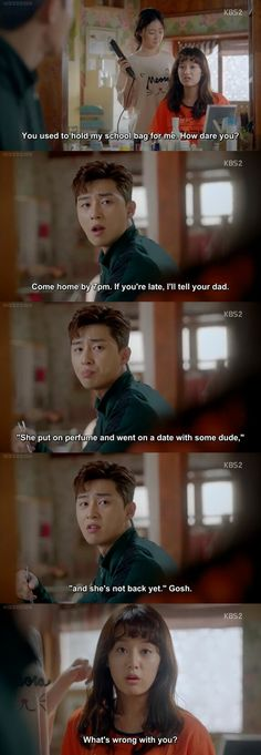 Jealous Dong Man is funny Dong Man Korean Drama Funny, Korean Drama Movies, Korean Dramas, Korean Actors, Fight My Way Kdrama, Wanting A Boyfriend, Drama Memes, Seo Joon, Drama Korea