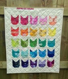 Cat quilt - Jennie's Threads
