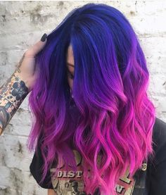 Awesome Pulp Riot Blue Hair Colors for Medium to Long Length Haircuts Check more at beauty.weddingrin… - Awesome Pulp Riot Blue Hair Colors for Medium to Long Length Haircuts , Cute Hair Colors, Pretty Hair Color, Hair Color Purple, Hair Dye Colors, Purple Colors, Blue And Pink Hair, Awesome Hair Color, Rainbow Hair Colors, Light Purple Hair Dye