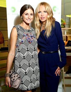 Fashion's Night Out 2012: Olivia Palermo and Rachel Zoe
