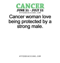 Cancer woman love being protected by a strong... - fun zodiac ...